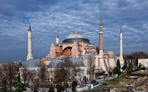The Ayia Sofia Byzantine church