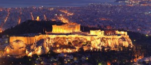 Acropolis view, Athens Greece,