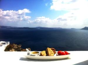 Santorini's baby tomatoes,